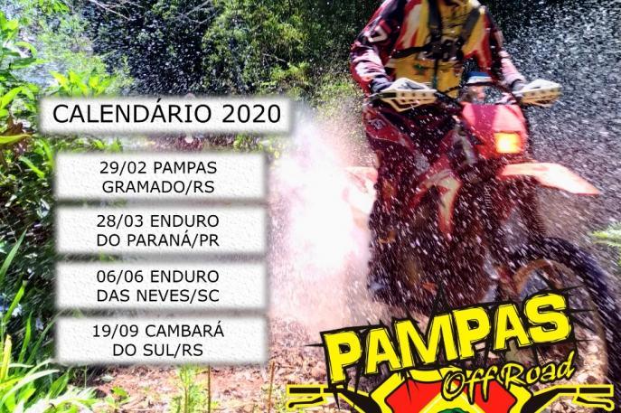 Definido calendário do Campeonato Paranaense de Enduro de Regularidade 2020