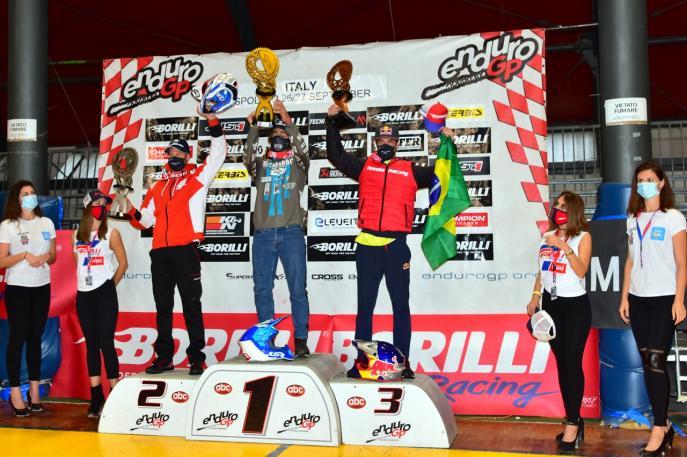 Bruno Crivilin repete resultado histórico no Mundial de Enduro e vai ao pódio no GP da Itália