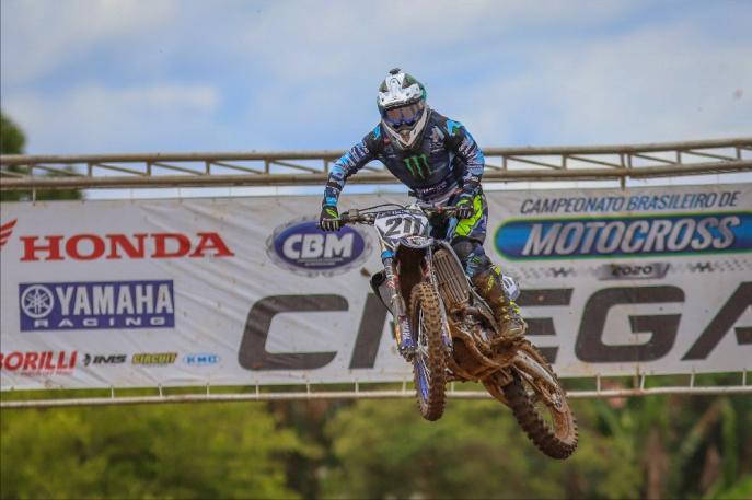 Yamaha vence em Apiaí-SP e assume liderança do Brasileiro de Motocross 2020