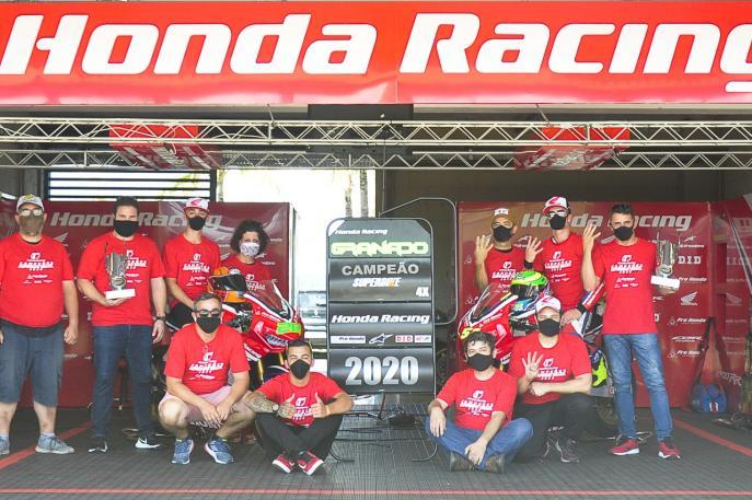 Honda Racing encerra temporada 2020 com títulos em todas as modalidades