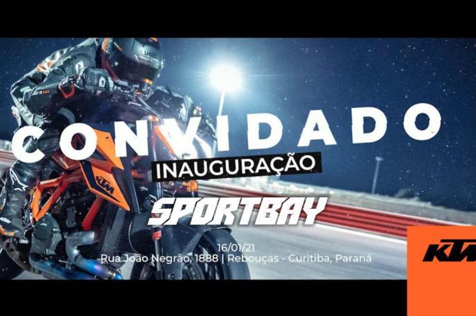 KTM Sportbay será inaugurada neste sábado, em Curitiba (PR)