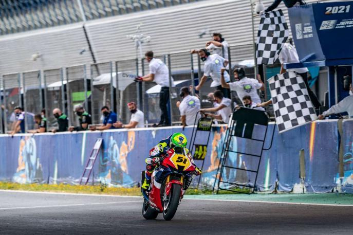 Eric Granado conquista primeiro pódio no Campeonato Espanhol de Superbike