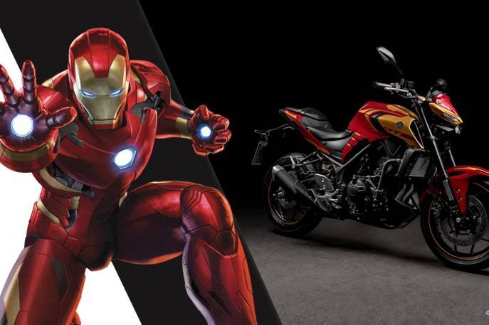 YAMAHA dá continuidade à Collab com Marvel e lança MT-03 Homem de Ferro