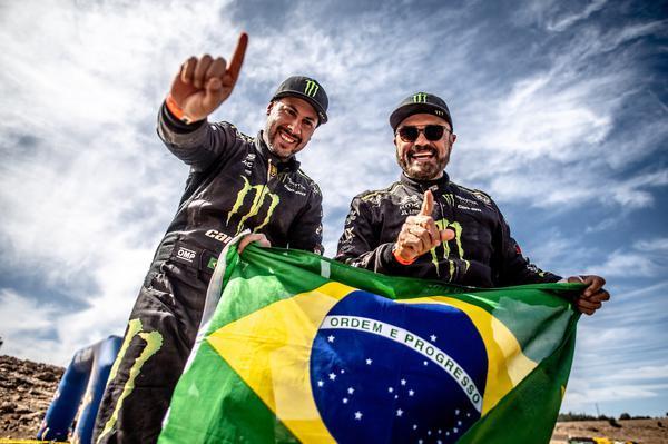 Depois do tricampeonato mundial em outubro, Varela e Gugelmin tentam repetir façanha no Dakar