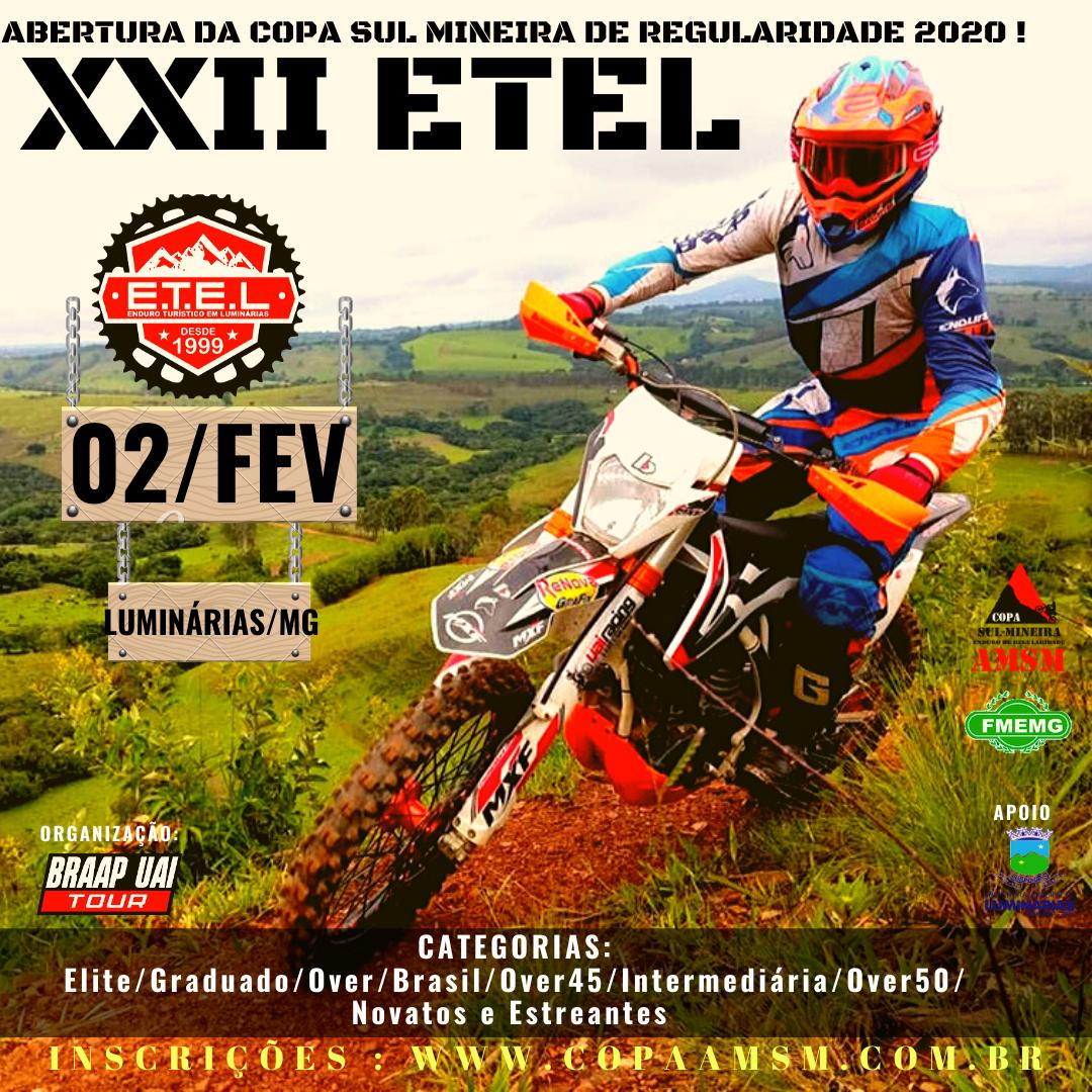 XXII ETEL - Contagem regressiva para começa a Copa Sul Mineira 2020