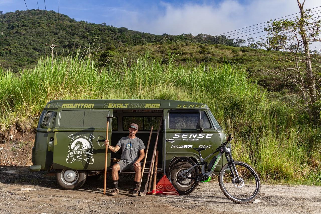 Knob Trail System e Sense Bike - Uma parceria de sucesso!