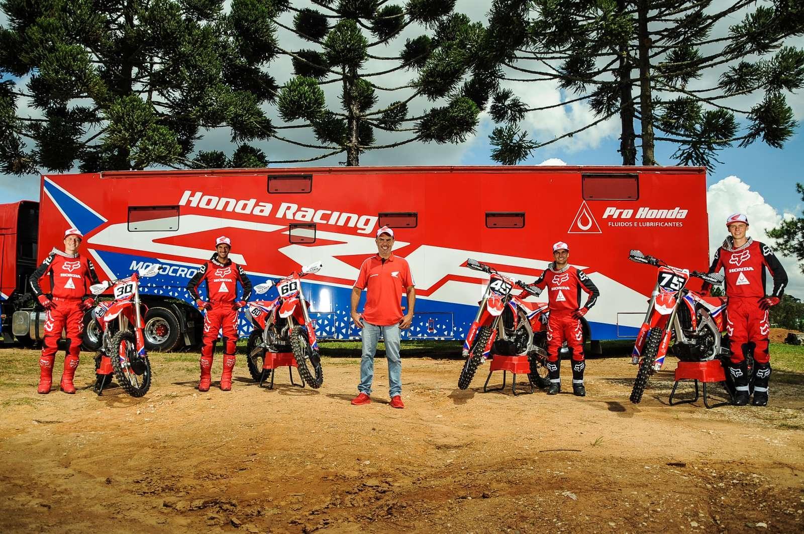 Honda Racing apresenta equipes, patrocínios e estratégias para 2021
